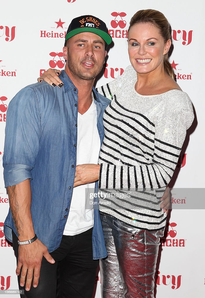 Mark Judge and Charlotte Dawson pose at the Pacha Launch at the Ivy on November 24, 2012 in Sydney, Australia.