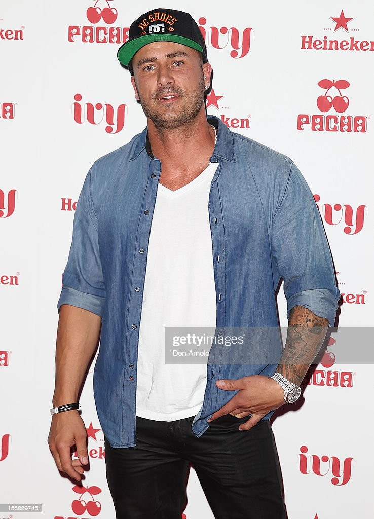 Mark Judge poses at the Pacha Launch at the Ivy on November 24, 2012 in Sydney, Australia.