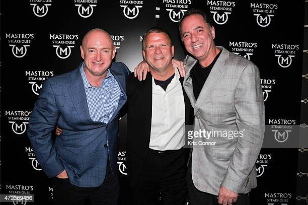 Mark Kelly Tilman Fertitta Chairman and Owner of Landry's INC and Richard Handler attend the Grand Opening Celebration of Mastro's Steakhouse...