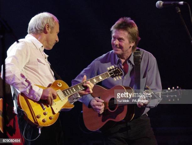 Mark Knopfler and Joe Brown performing during the Lonnie Donegan tribute concert at the Royal Albert Hall in central London Some of the biggest names...