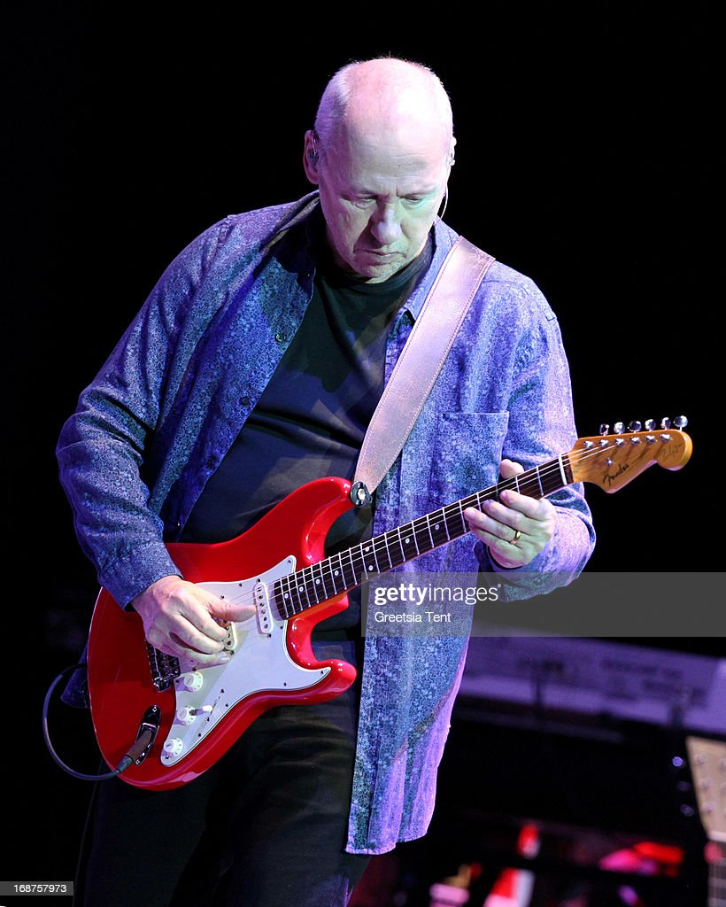 Mark Knopfler performs at the Ziggo Dome on May 14, 2013 in Amsterdam, Netherlands.