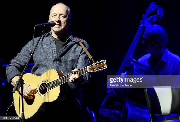 Mark Knopfler performs in support his Privateering release at The Fox Theatre on October 28 2013 in Oakland California