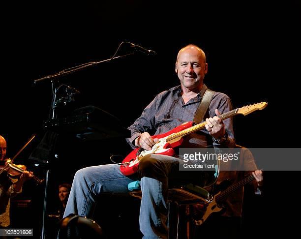 Mark Knopfler performs live at Heineken Music Hall on June 28 2010 in Amsterdam Netherlands