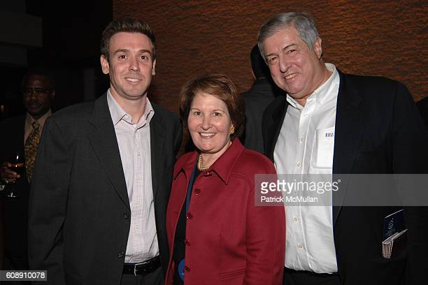 Mark Kornblau Nina Zagat and Tim Zagat attend Time Warner's Conversations On The Circle with Time Warner's CEO DICK PARSONS and SENATOR JOHN EDWARDS...