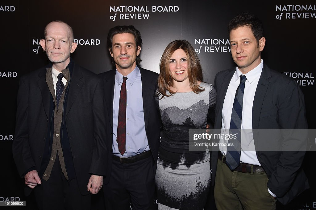 Mark Landis Sam Cullman Jennifer Grausman and Mark Becker attend the 2014 National Board of Review Gala at Cipriani 42nd Street on January 6 2015 in...