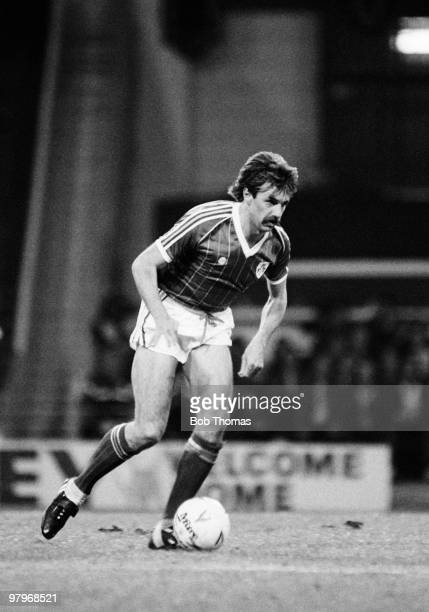 Mark Lawrenson of the Republic of Ireland during the England v Republic of Ireland Friendly International match played at Wembley Stadium London on...
