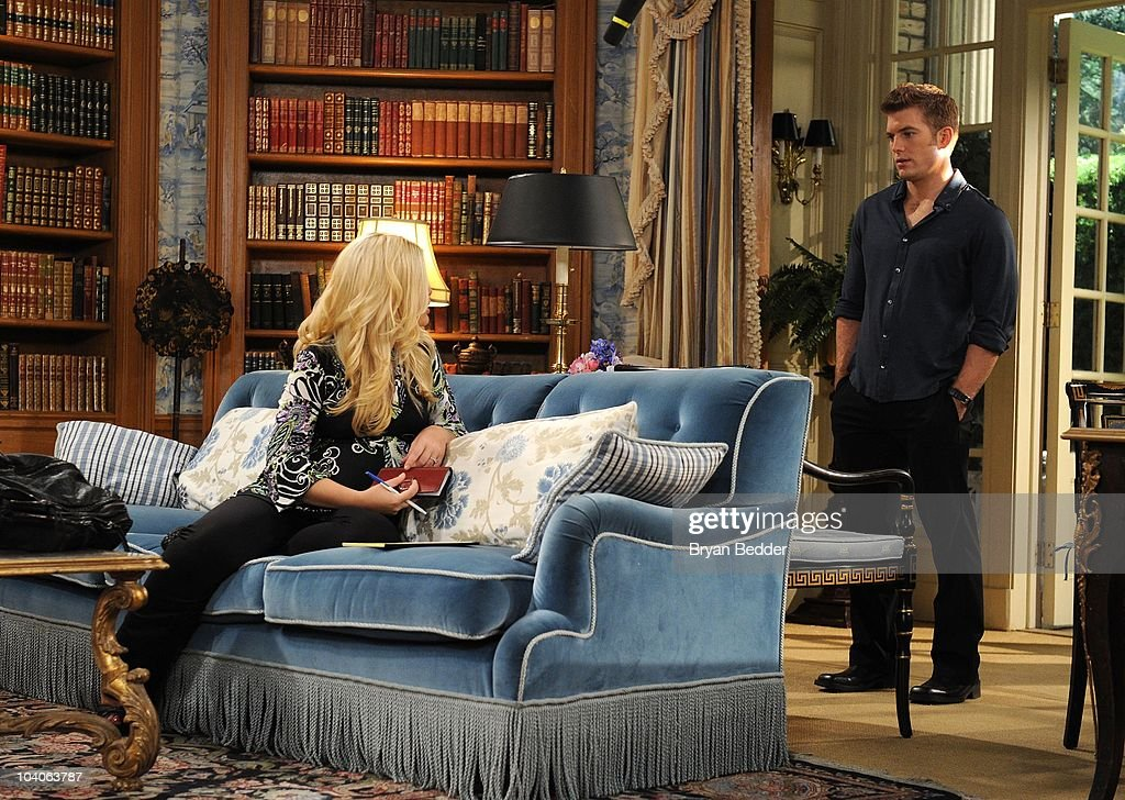 Mark Lawson and Bree Williamson in a scene that begins airing the week of September 27, 2010 on ABC Daytime's 'One Life to Live. 'One Life to Live' airs Monday - Friday (2:00 p.m. - 3:00 p.m., ET) on the ABC Television Network