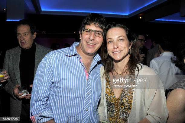 Mark Leavitt and Karen Leavitt attend PATTI SMITH Live in Concert A Benefit for The American Folk Art Museum at Espace on May 15 2010 in New York City