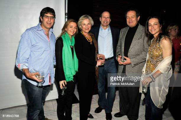 Mark Leavitt Giulia Weisman Luise Kleinberg Mark Weisman Robert Kleinberg and Karen Leavitt attend PATTI SMITH Live in Concert A Benefit for The...