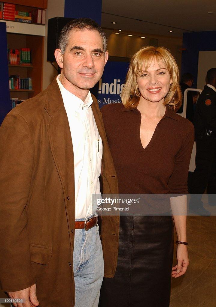 Mark Levinson and Kim Cattrall