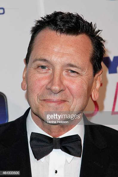 Mark Lindsay Chapman attends the Norby Walters 25th annual night of 100 stars Oscar viewing gala at The Beverly Hilton Hotel on February 22 2015 in...
