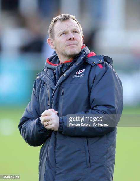 Mark McCall Saracens Director of Rugby