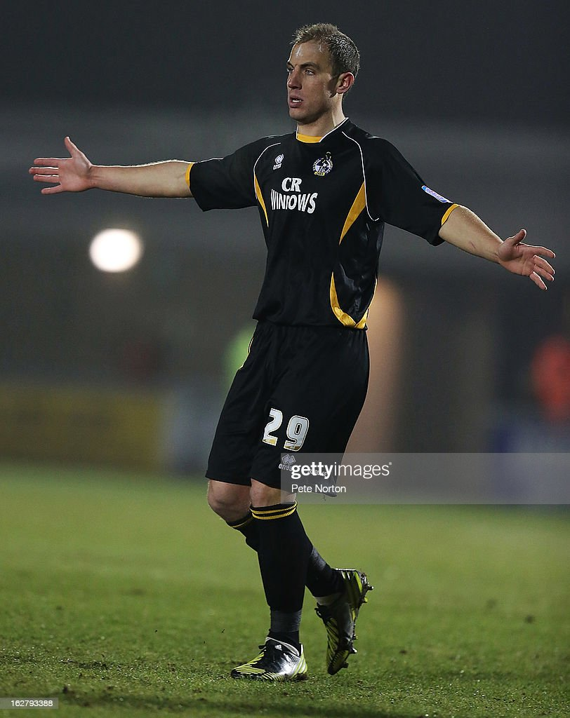 Mark McChrystal of Bristol Rovers in action during the npower League Two match between Northampton Town and Bristol Rovers at Sixfields Stadium on February 26, 2013 in Northampton, England.