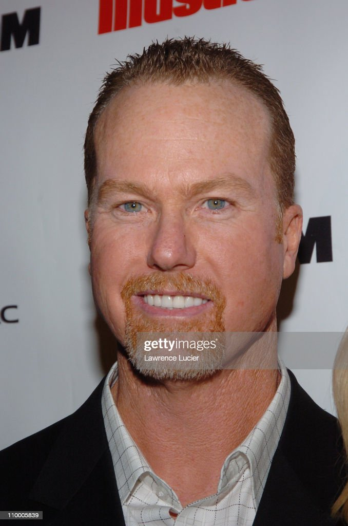 Mark McGwire during Sports Illustrated 2005 Swimsuit Issue - Press Conference at AER Lounge in New York City, New York, United States.