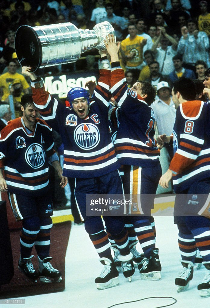 1990 Stanley Cup Finals - Game 5: Edmonton Oilers v Boston Bruins