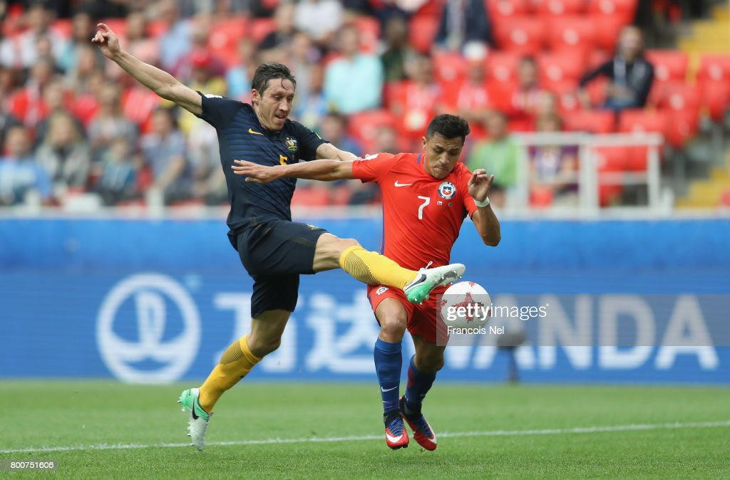 Chile v Australia: Group B - FIFA Confederations Cup Russia 2017