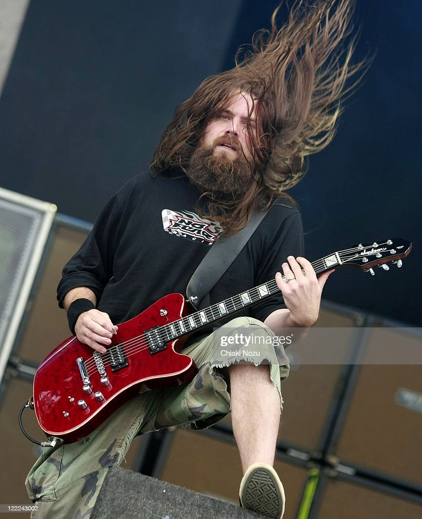 Mark Morton of Lamb of God performs at day 2 of the Download Festival at Donington Park on June 12, 2010 in Castle Donington, England.