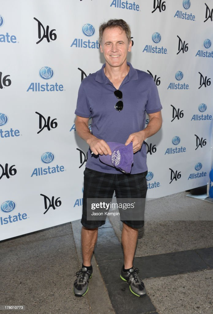 Mark Moses attends the 2nd Annual Dennis Haysbert Humanitarian Foundation Celebrity Golf Classic at Lakeside Golf Club on August 26, 2013 in Burbank, California.