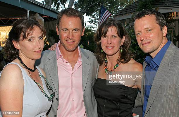 Mark Moses' wife Mark Moses Barbara Culp and Steven Culp