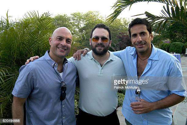 Mark Moskowitz Scott Hoffman and Yuval Hadaei attend School's Out 2008 benefiting The HetrickMartin Institute home of the Harvey Milk High School at...
