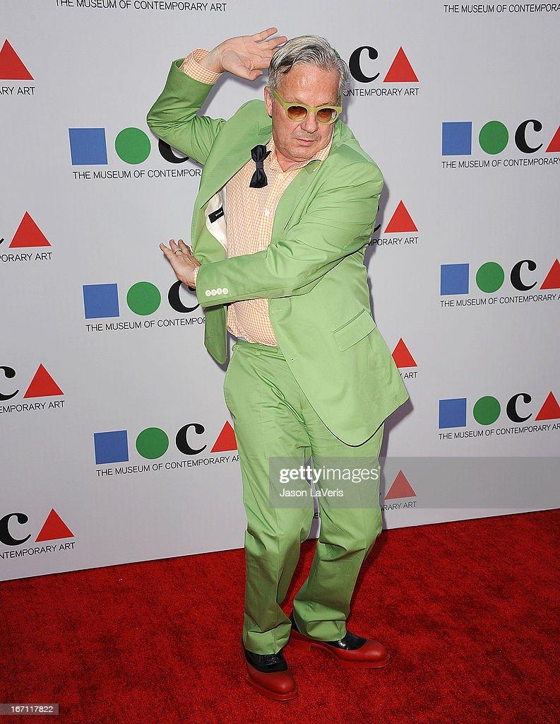 Mark Mothersbaugh of Devo attends the 2013 MOCA Gala at MOCA Grand Avenue on April 20, 2013 in Los Angeles, California.
