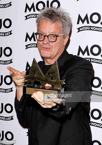 Mark Mothersbaugh of DEVO with award at The Mojo Honours List at The Brewery on June 10 2010 in London England