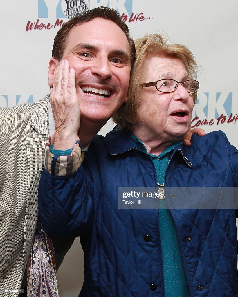 Mark Nadler and Dr. Ruth attend the 'I'm A Stranger Here Myself' Off Broadway Opening Night at The York Theatre at Saint Peter's on May 2, 2013 in New York City.