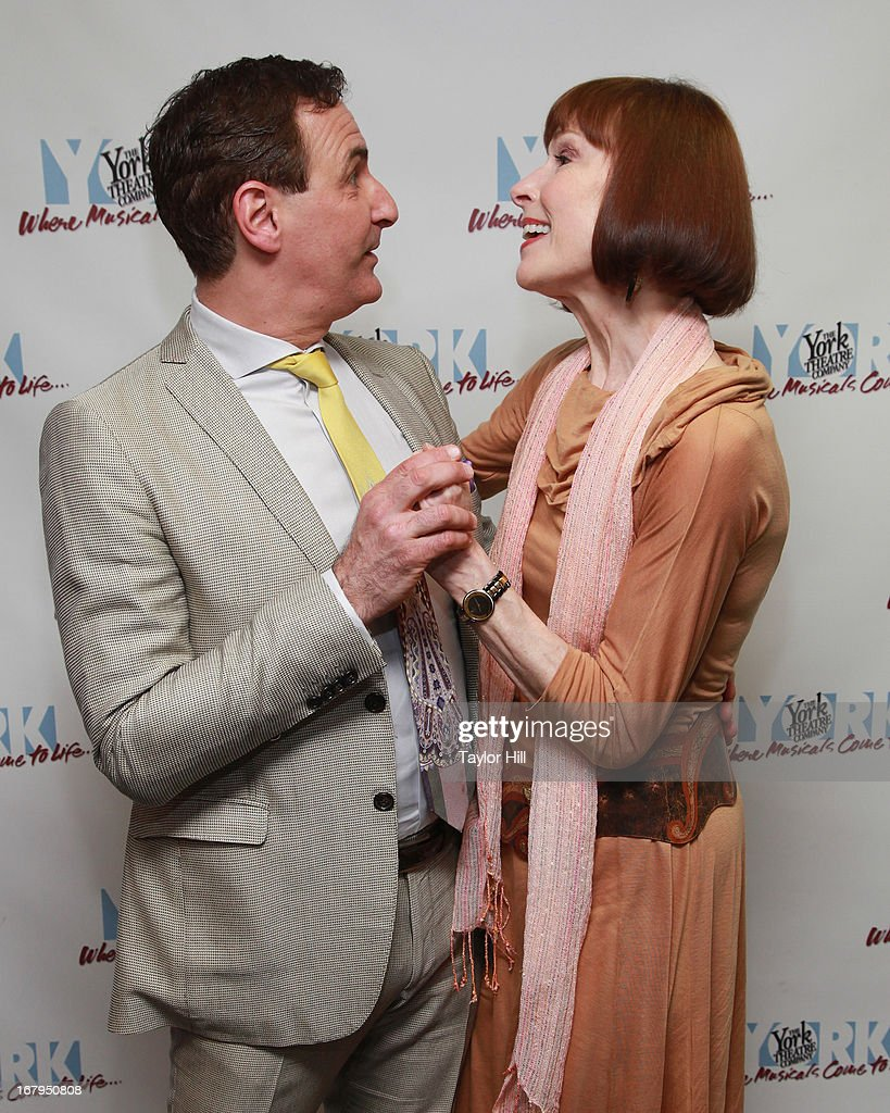 Mark Nadler and Karen Akers attend the after party for 'I'm A Stranger Here Myself' Off Broadway Opening Night at The York Theatre at Saint Peter's on May 2, 2013 in New York City.