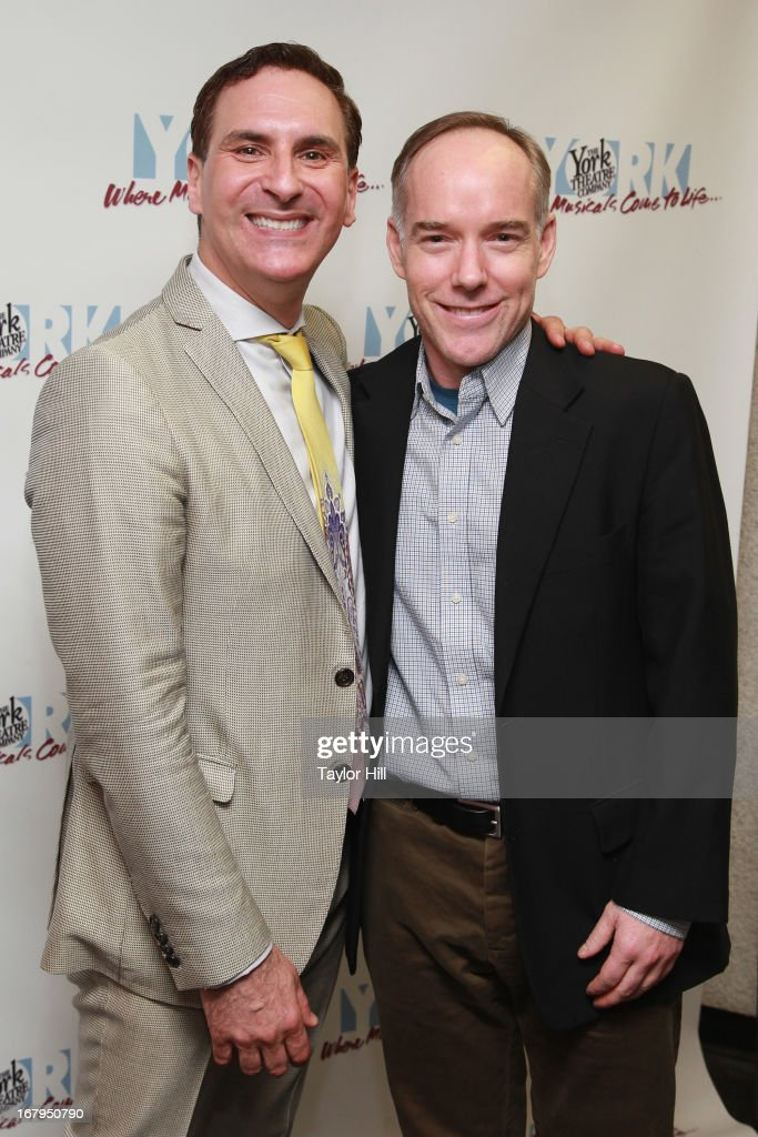 Mark Nadler and Michael Winther attend 'I'm A Stranger Here Myself' Off Broadway Opening Night at The York Theatre at Saint Peter's on May 2, 2013 in New York City.