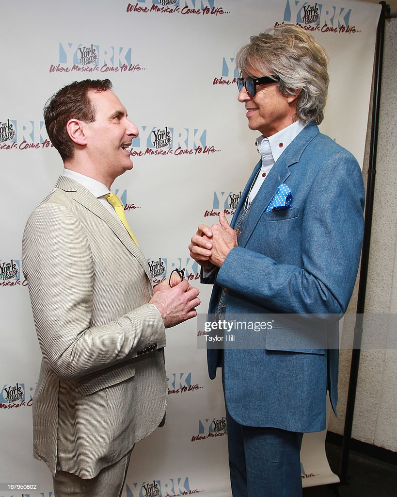 Mark Nadler and Tommy Tune attend the 'I'm A Stranger Here Myself' Off Broadway Opening Night at The York Theatre at Saint Peter's on May 2, 2013 in New York City.