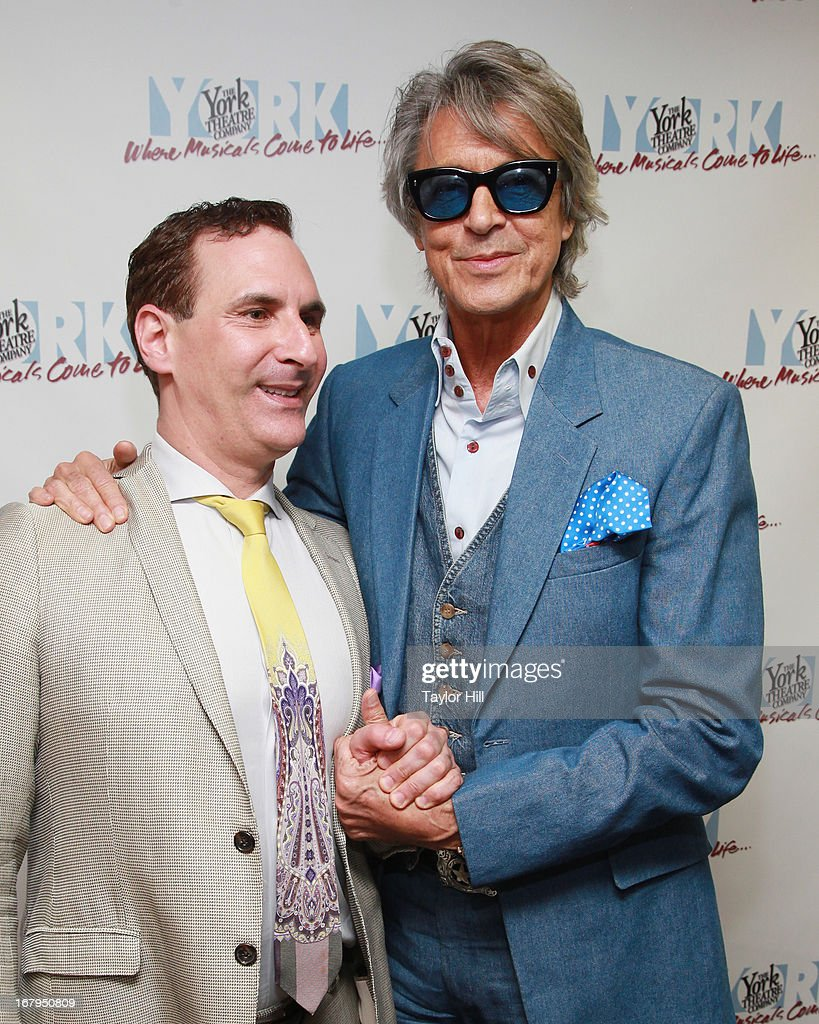 Mark Nadler and <a gi-track='captionPersonalityLinkClicked' href=/galleries/search?phrase=Tommy+Tune&family=editorial&specificpeople=208783 ng-click='$event.stopPropagation()'>Tommy Tune</a> attend the 'I'm A Stranger Here Myself' Off Broadway Opening Night at The York Theatre at Saint Peter's on May 2, 2013 in New York City.
