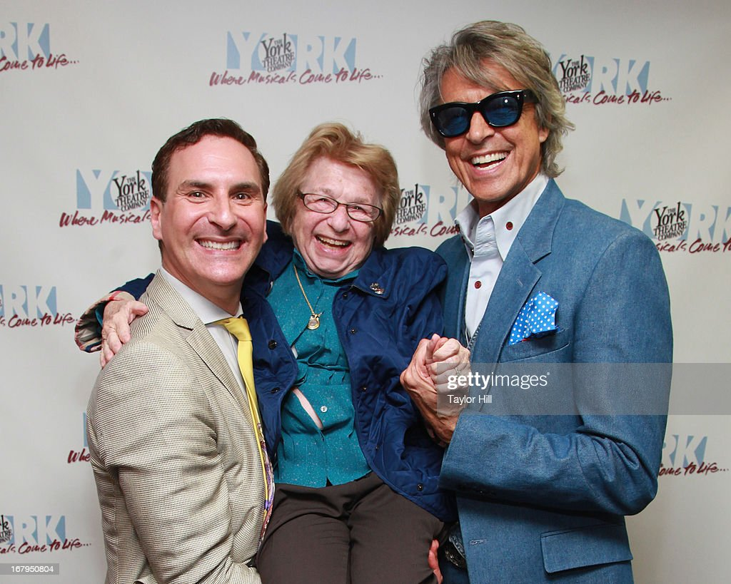 Mark Nadler, Dr. Ruth, and <a gi-track='captionPersonalityLinkClicked' href=/galleries/search?phrase=Tommy+Tune&family=editorial&specificpeople=208783 ng-click='$event.stopPropagation()'>Tommy Tune</a> attend the after party for 'I'm A Stranger Here Myself' Off Broadway Opening Night at The York Theatre at Saint Peter's on May 2, 2013 in New York City.