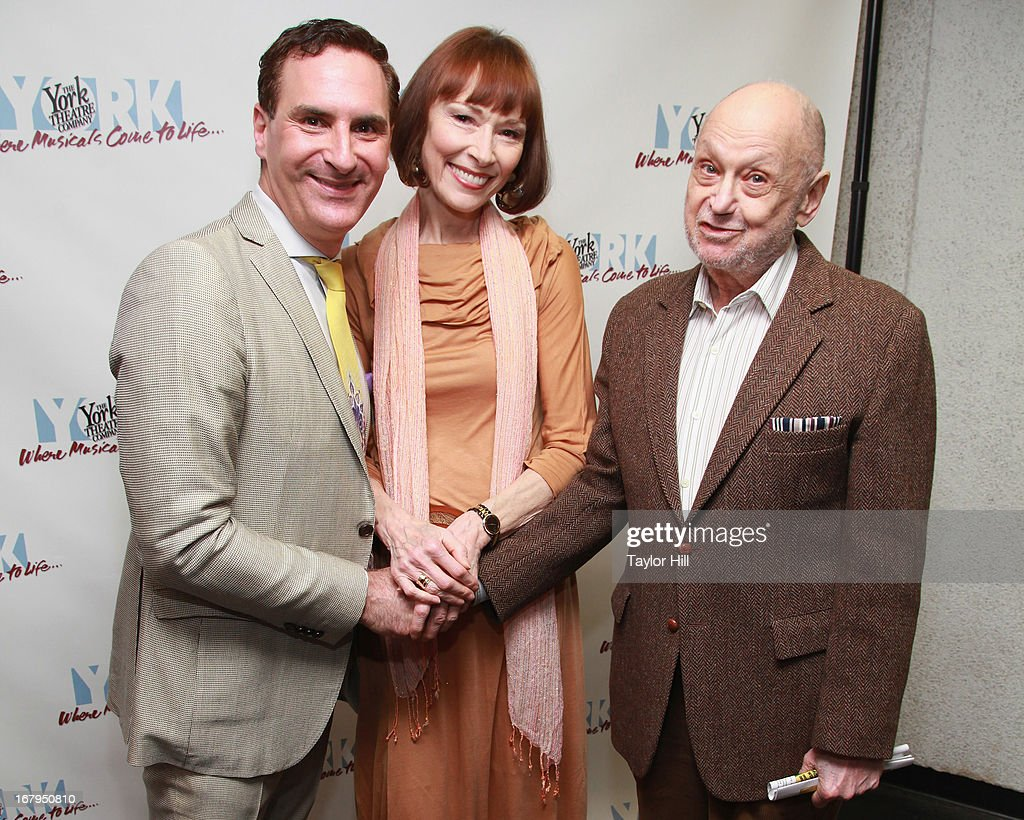 Mark Nadler, Karen Akers, and <a gi-track='captionPersonalityLinkClicked' href=/galleries/search?phrase=Charles+Strouse&family=editorial&specificpeople=2216071 ng-click='$event.stopPropagation()'>Charles Strouse</a> attend the 'I'm A Stranger Here Myself' Off Broadway Opening Night at The York Theatre at Saint Peter's on May 2, 2013 in New York City.