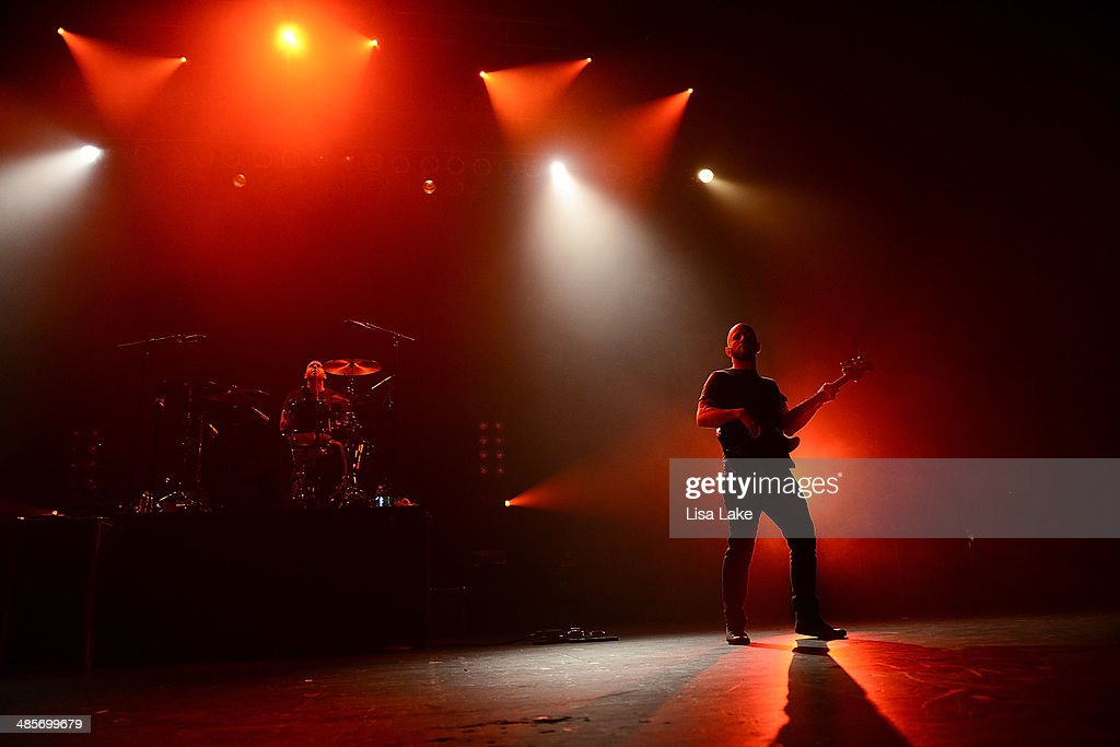 Mark O'Connell and Shaun Cooper of Taking Back Sunday perform at Sands Bethlehem Event Center on April 19, 2014 in Bethlehem, Pennsylvania.
