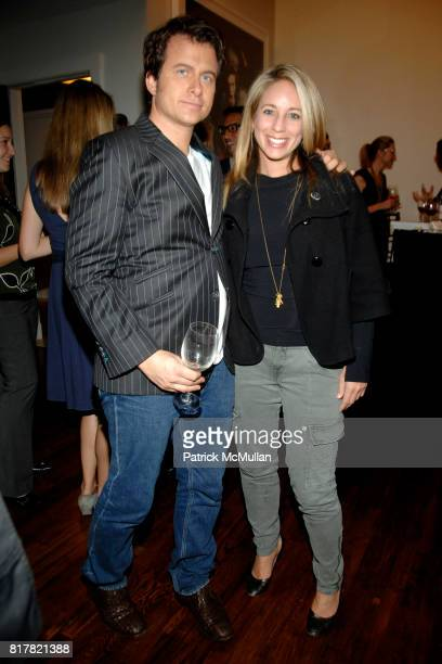 Mark Oldman and Lauren Glassberg attend OLDMAN'S BRAVE NEW WORLD OF WINE Book Launch Hosted by W W Norton and Mark Oldman at Residence of Mark Oldman...