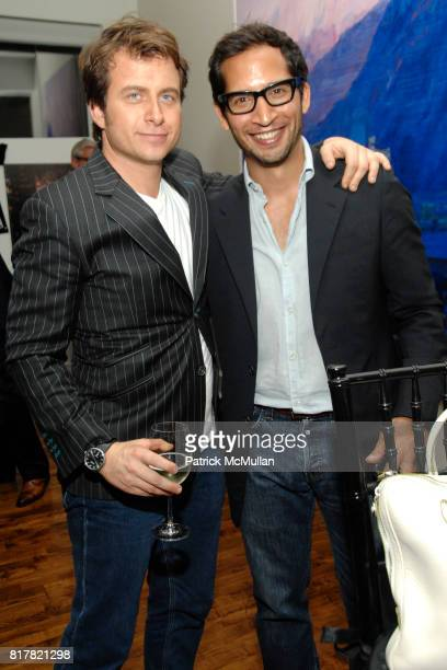 Mark Oldman and Mike Hernandez attend OLDMAN'S BRAVE NEW WORLD OF WINE Book Launch Hosted by W W Norton and Mark Oldman at Residence of Mark Oldman...