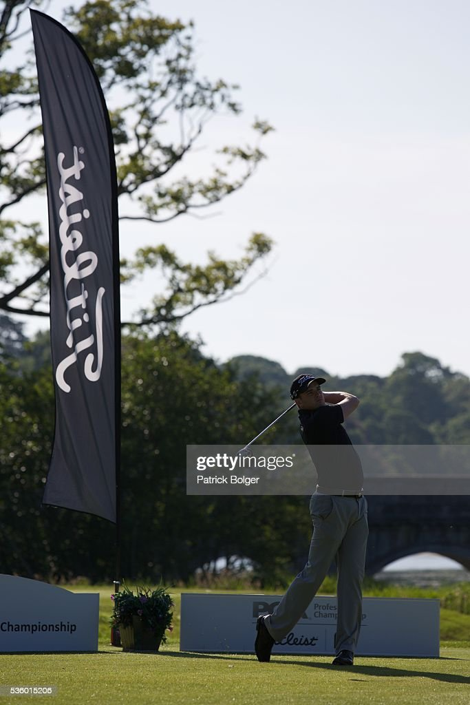 Mark O'Mahon (Titlesit National Fitting Centre) at Carton House Golf Club on May 31, 2016 in Maynooth, Ireland.