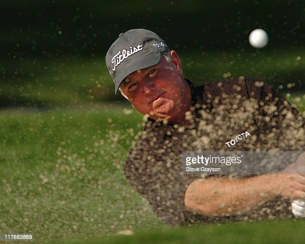 Mark O'Meara competes during the third round at the PGA Tour 45th Bob Hope Chrysler Classic Pro Am at La Quinta Country Club January 23 2004