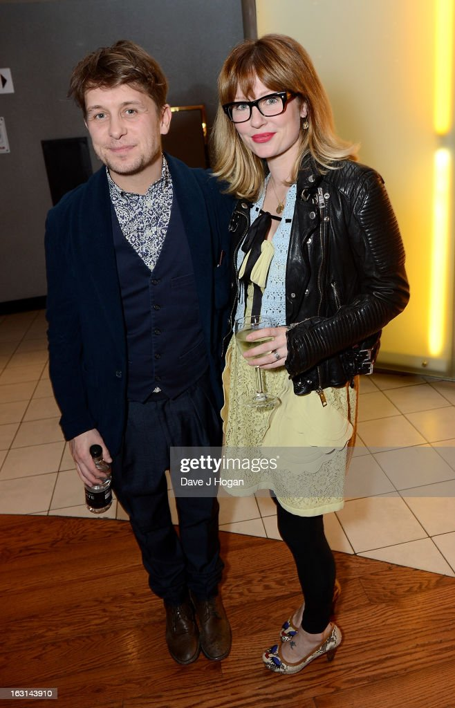 <a gi-track='captionPersonalityLinkClicked' href=/galleries/search?phrase=Mark+Owen&family=editorial&specificpeople=217494 ng-click='$event.stopPropagation()'>Mark Owen</a> and his wife Emma Ferguson attend the 'Welcome To The Punch' UK Premiere at the Vue West End on March 5, 2013 in London, England.