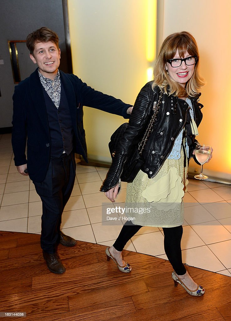 Mark Owen and his wife Emma Ferguson attend the 'Welcome To The Punch' UK Premiere at the Vue West End on March 5, 2013 in London, England.