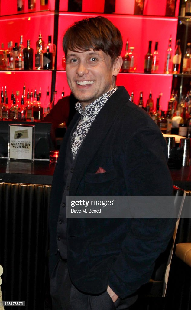 <a gi-track='captionPersonalityLinkClicked' href=/galleries/search?phrase=Mark+Owen&family=editorial&specificpeople=217494 ng-click='$event.stopPropagation()'>Mark Owen</a> attends an after party following the 'Welcome To The Punch' UK Premiere at the Hippodrome Casino on March 5, 2013 in London, England.