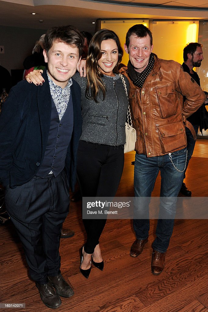 Mark Owen Kelly Brook and Jason Flemyng attend the UK Premiere of 'Welcome To The Punch' at the Vue West End on March 5 2013 in London England