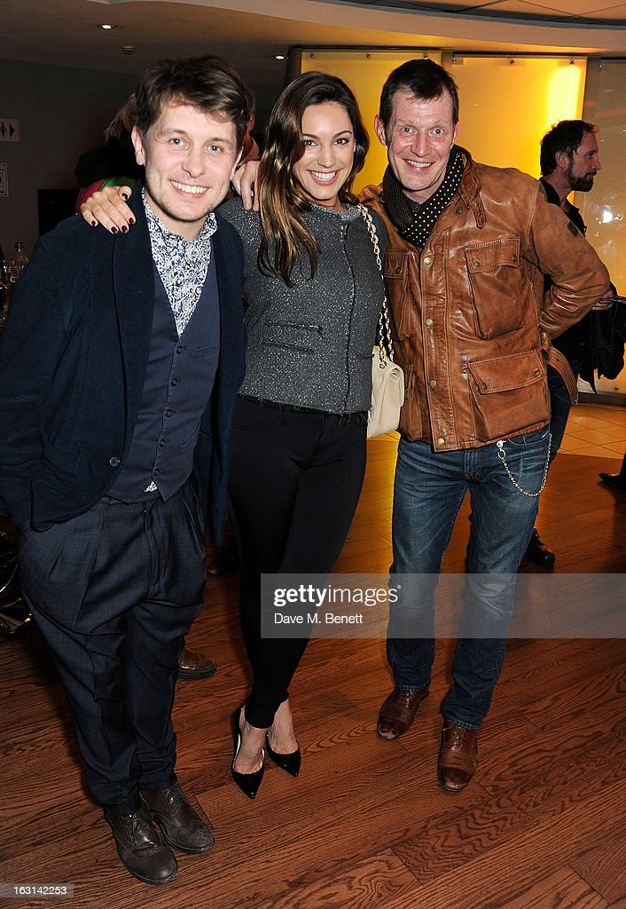 Mark Owen, Kelly Brook and Jason Flemyng attend the UK Premiere of 'Welcome To The Punch' at the Vue West End on March 5, 2013 in London, England.