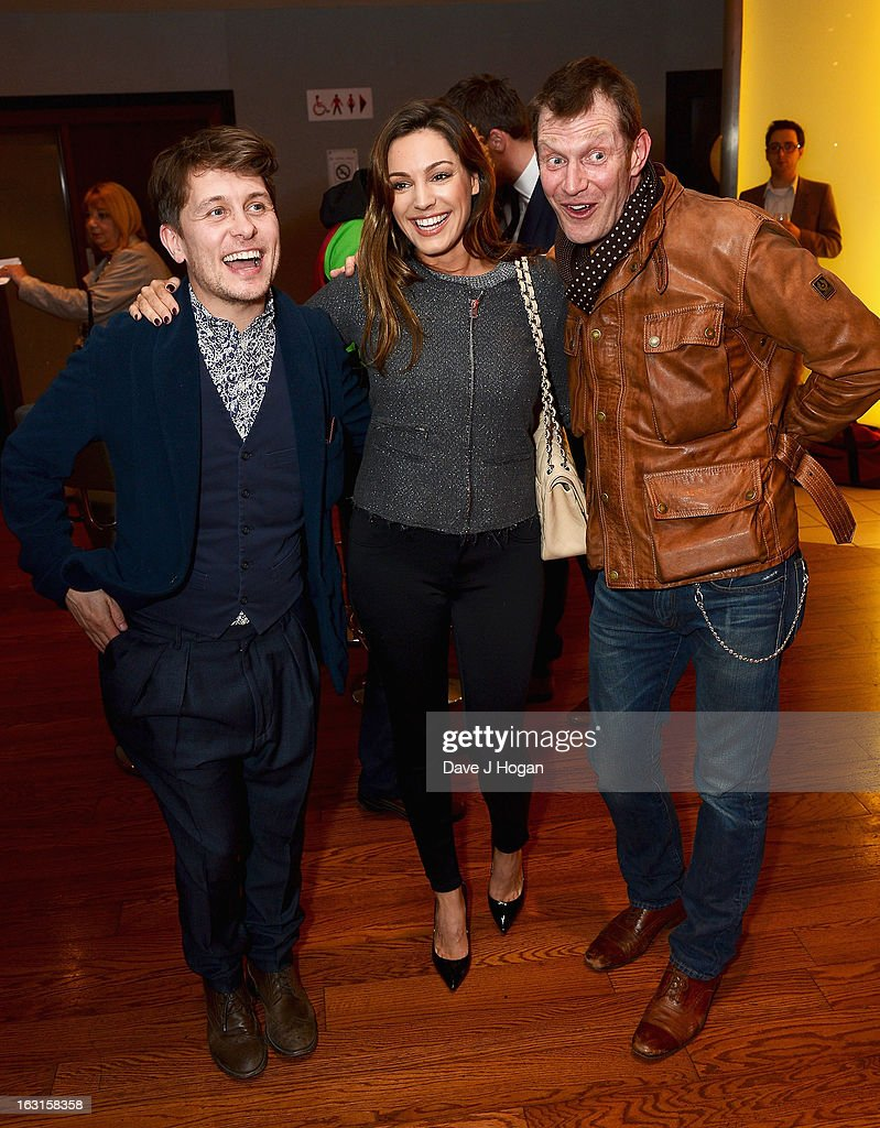 Mark Owen, Kelly Brook and Jason Flemyng attend the 'Welcome To The Punch' UK Premiere at the Vue West End on March 5, 2013 in London, England.