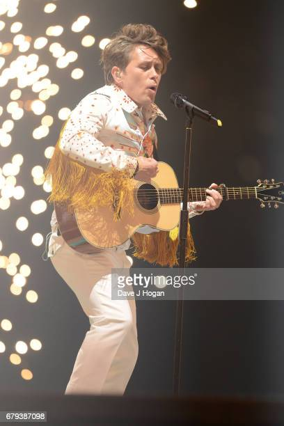 Mark Owen of Take That performs on the opening night of Wonderland Live 2017 at Genting Arena on May 5 2017 in Birmingham United Kingdom