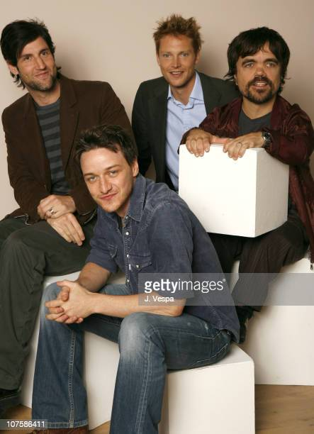 Mark Palansky Simon Woods Peter Dinlage and James McAvoy