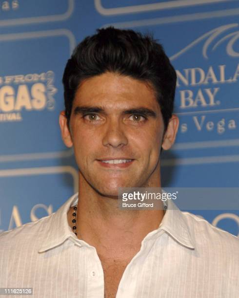 Mark Philippoussis during Vegas Magazine Fourth Anniversary Party at Mandalay Bay Hotel and Casino in Las Vegas Nevada United States