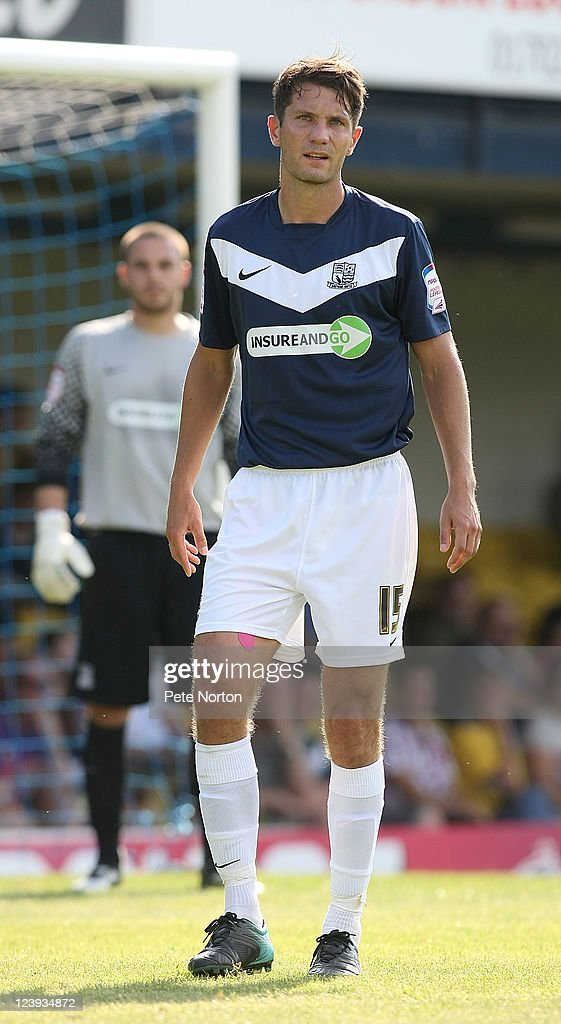 Mark Phillips of Southend United in action during the npower League Two match between Southend United and Northampton Town at Roots Hall on September 3, 2011 in Southend, England.