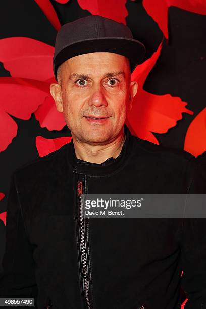 Mark Quinn attends SUSHISAMBA third anniversary celebration with an Amazonian themed Carnaval party at Sushi Samba on November 10 2015 in London...