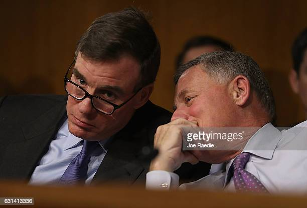 Mark R Warner Vice Chair of the Senate Select Committee on Intelligence and Sen Richard Burr Chairman of the Senate Select Committee on Intelligence...
